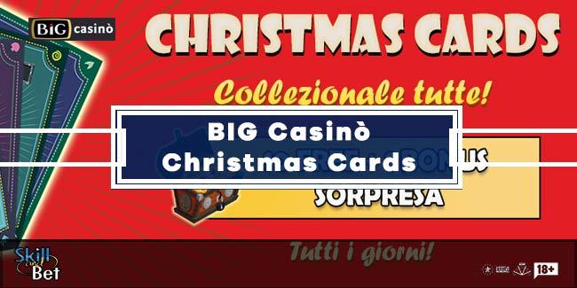 BIG Casinò Christmas Cards: Bonus e Sorprese Fino a Natale