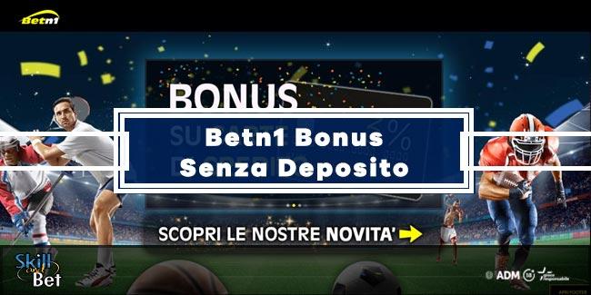 Betn1 Bonus Benvenuto: 200€ Senza Deposito Per Le Scommesse