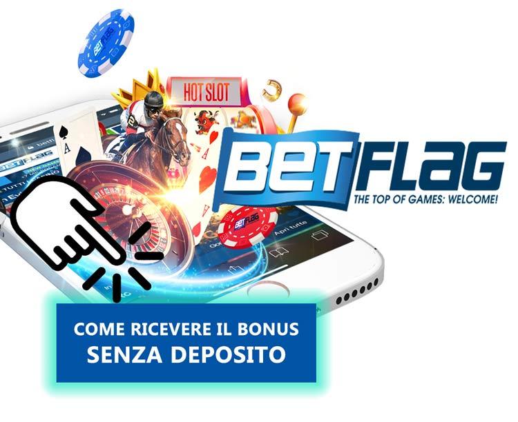 Betflag Casino 30€ Bonus Senza Deposito da giocare sulle slot machine