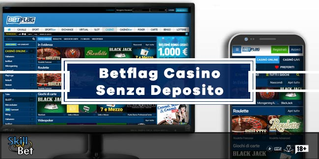 Betflag Casino 20€ Bonus Senza Deposito da giocare sulle slot Bangkok
