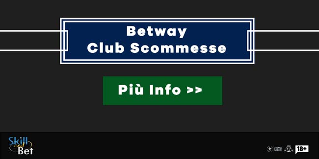 betway club scommesse