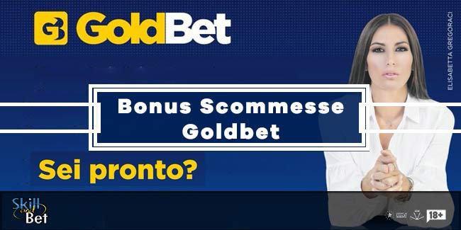 Codice Bonus Goldbet: Fino a 255€ Per Le Scommesse