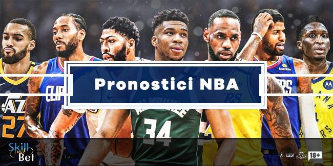 Pronostici NBA di Oggi: Consigli, Quote e Schedine