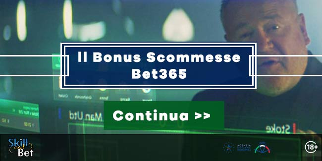 Bet365.it bonus scommesse