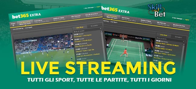 bet365 diretta streaming
