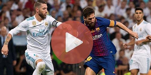Come guardare Barcellona - Real Madrid in Diretta TV Gratis su DAZN ed Eurobet