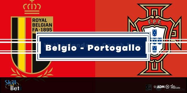 Pronostici Belgio-Portogallo: Vincente, Risultato Esatto & Quote (Euro 2020)