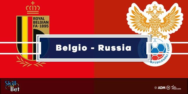 Pronostici Belgio-Russia: Vincente, Risultato Esatto & Quote (Euro 2020)