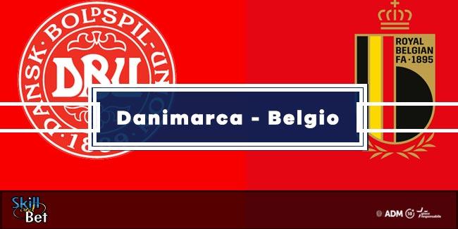 Pronostici Danimarca-Belgio: Vincente, Risultato Esatto & Quote (Euro 2020)