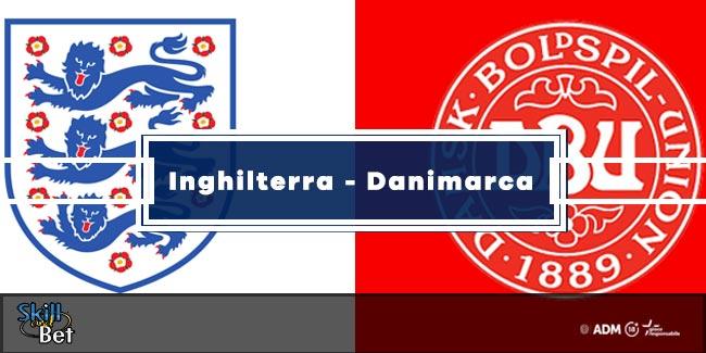 Pronostici Inghilterra-Danimarca: Vincente, Risultato Esatto & Quote (Euro 2020)