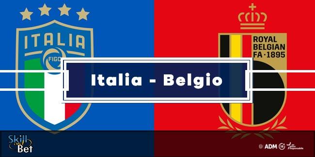 Pronostici Italia-Belgio: Vincente, Risultato Esatto & Quote (Euro 2020)