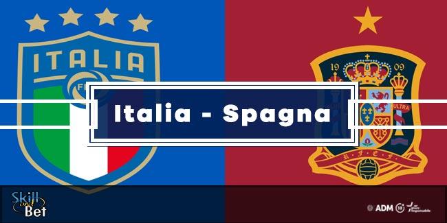 Pronostici Italia-Spagna: Vincente, Risultato Esatto & Quote (Euro 2020)