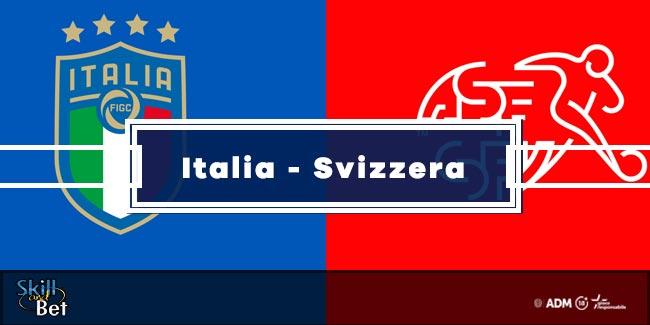 Pronostici Italia-Svizzera: Vincente, Risultato Esatto & Quote (Euro 2020)