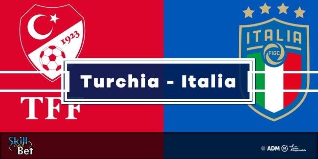 Pronostici Italia-Turchia: Vincente, Risultato Esatto & Quote (Euro 2020)