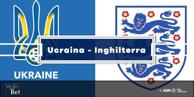 Pronostici Ucraina-Inghilterra: Vincente, Risultato Esatto & Quote (Euro 2020)