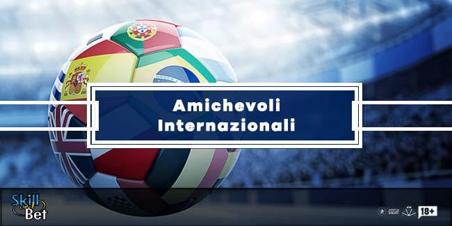 Pronostici Amichevoli Internazionali: singole, schedine e bonus scommesse