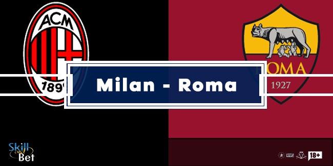 Pronostici Milan - Roma: Vincente, Risultato Esatto, Marcatori (Serie A - 26 Ottobre 2020)