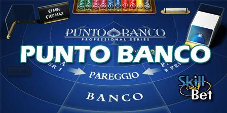 Punto Banco gratis online: gioca e vinci soldi reali