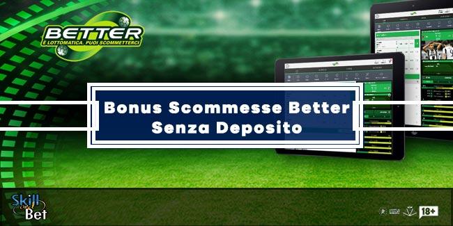 Better Lottomatica Senza Deposito: 15€ Gratis Per I Nuovi Clienti