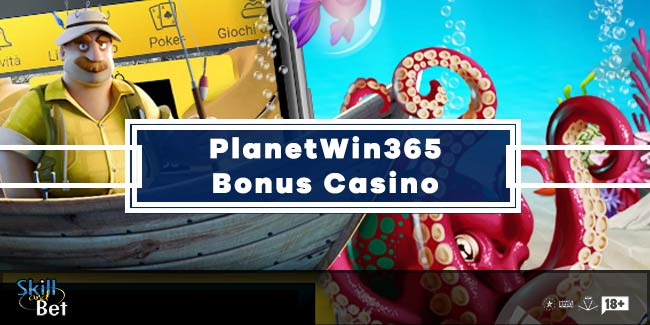 PlanetWin365 Bonus Senza Deposito Casino: 20€ Gratis