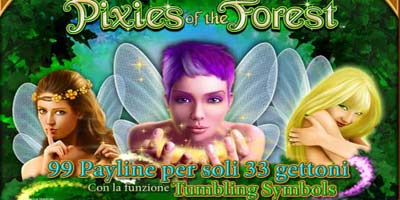 Gioca gratis alla slot Pixies of the Forest
