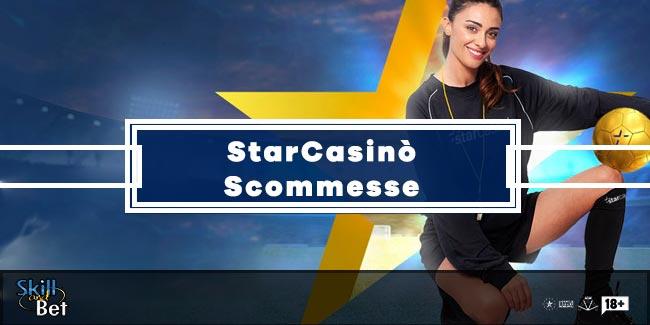StarCasinò lancia le Scommesse: Bonus, Quote ed Info