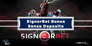 Signorbet Bonus Senza Deposito: 5€ Gratis Scommesse + 2€ Casino